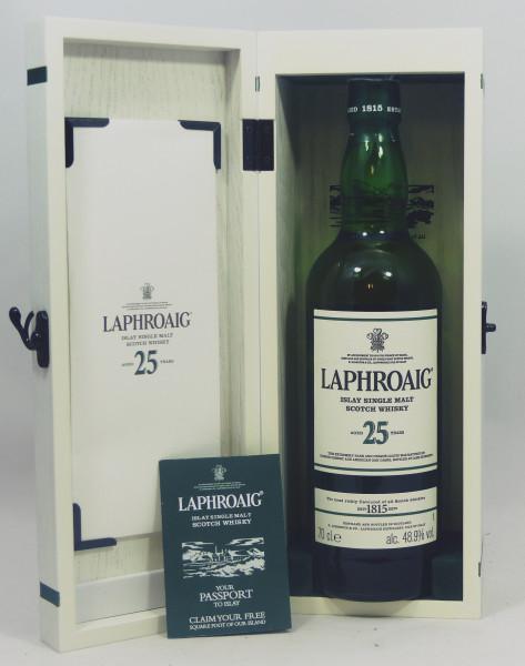 Laphroaig 25 Jahre Cask strength Edition 2017