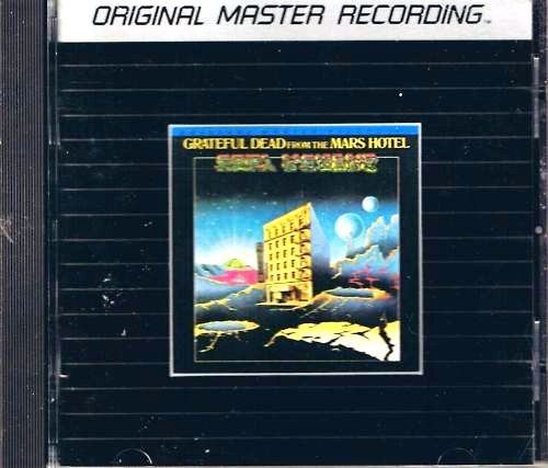 Grateful Dead The Mars Hotel MFSL Silver CD MFCD 830