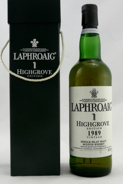 Laphroaig Vintage 1989 Highgrove Edition 1
