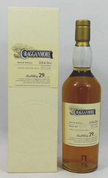 Cragganmore 29 Jahre b. 2003 Special Edition