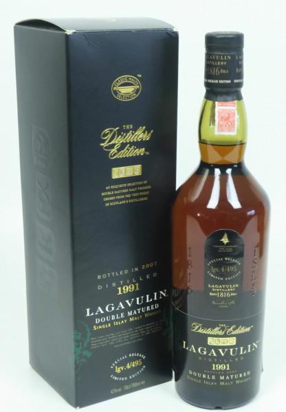Lagavulin Distillers Edition 1991 b. 2007 Doubel Matured