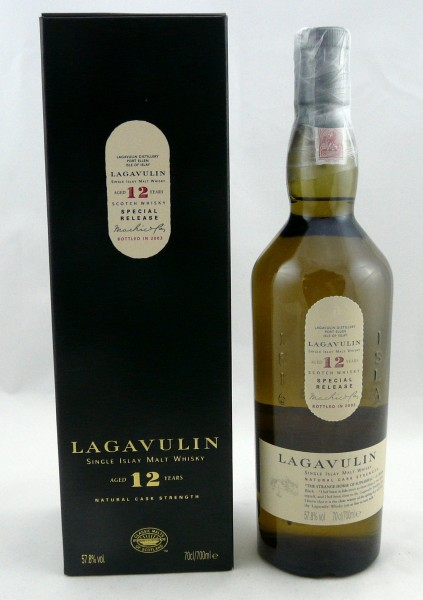 Lagavulin 12 Jahre b. 2003 Special Release