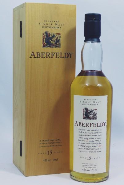 Aberfeldy 15 years Flora und Fauna in Holzkiste / Woodenbox