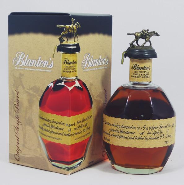 Blanton's The Original Single Barrel #29 Bourbon Whiskey aus 2009