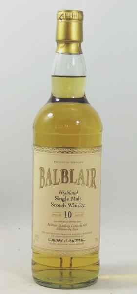 Balblair 10 Jahre G&M Licensed Bottling