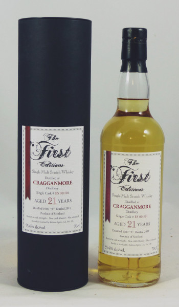 Cragganmore 21 Jahre 1989 ED The First Editions 55.4%