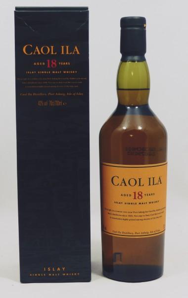 Caol Ila 18 Jahre alte Abfüllung old Label