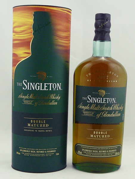 The Singleton of Glendullan Double Matrued 1 Liter