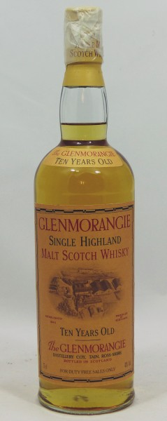 Glenmorangie 10 Jahre old Style Head Cooper Backlabel 75cl/43%