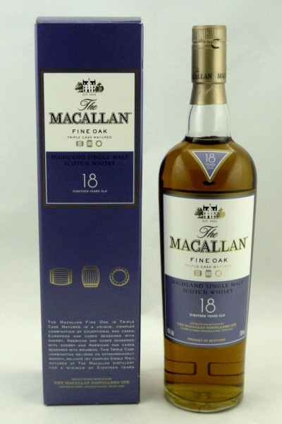Macallan 18 Jahre Fine Oak - Triple Cask Matured b. 2009