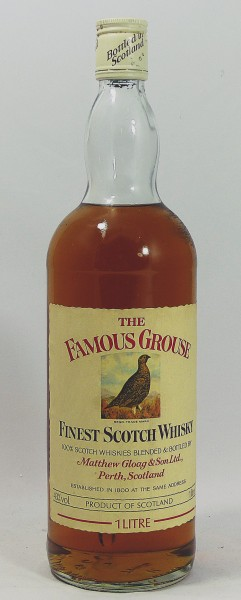 The Famous Grouse Finest Scotch Whisky Matthew Gloag 70's 80's