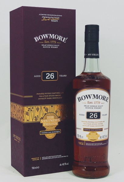Bowmore 26 years old The Vintner's Trilogy