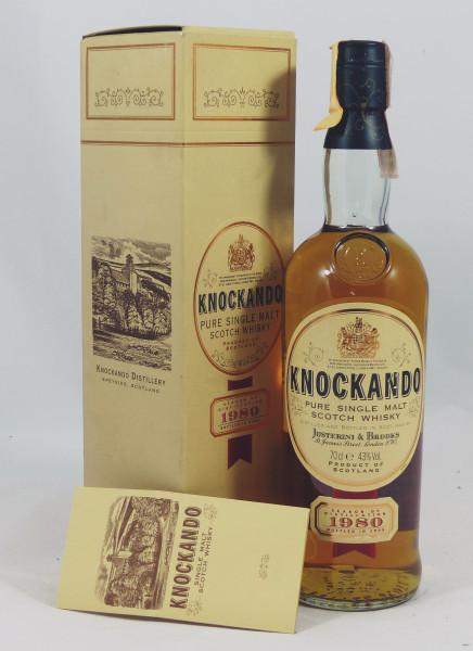Knockando 1980 b. 1995 by Justerini & Brooks