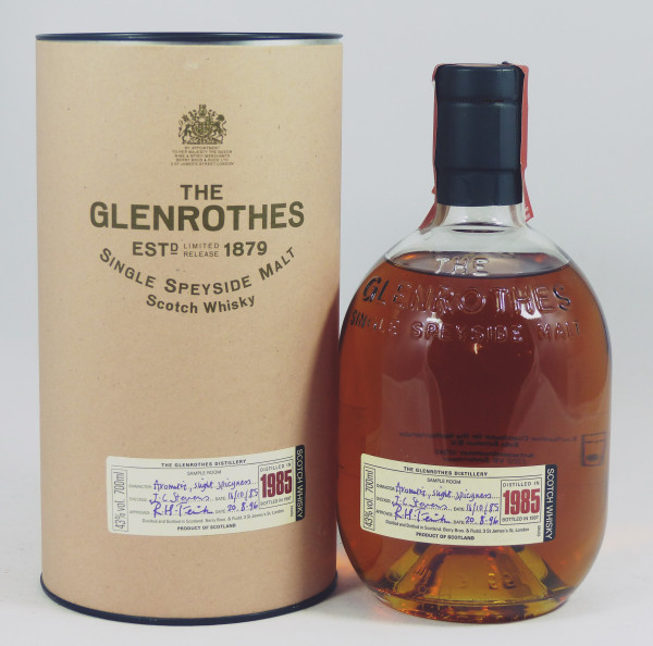 Glenrothes Vintage 1985 bottled in 1997