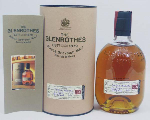 Glenrothes Vintage 1982 bottled in 1998