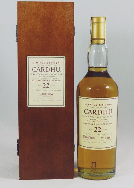 Cardhu 22 Jahre 1982 - Diageo Special Release 2005 57,8%