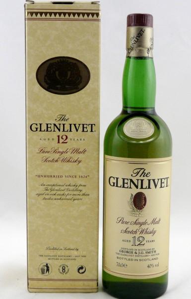 Glenlivet 12 Jahre Pure Single Malt