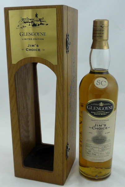 Glengoyne 1991 Jim's Choice Single Cask 1083