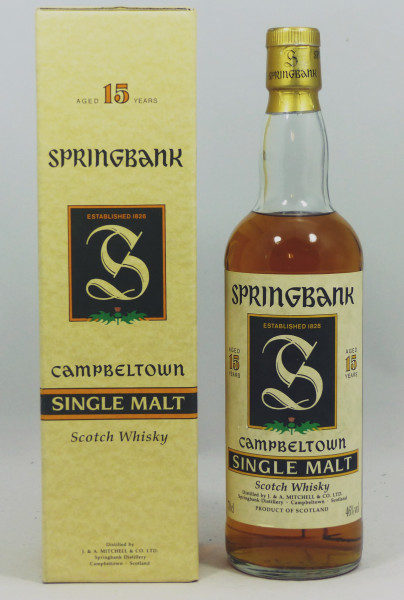 Springbank 15 Jahre old Style - green Thistle