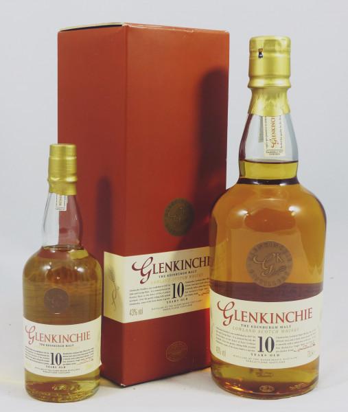 Glenkinchie 10 Jahre alte Abfüllung aus der Classic Malts Serie 70cl + 20cl
