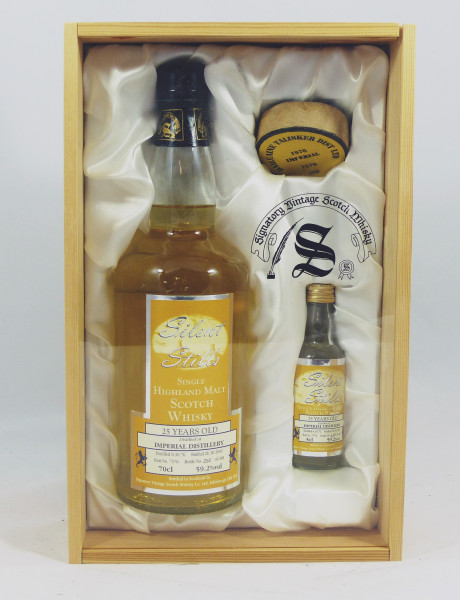 Imperial 25 years 1976 Silent Stills Signatory Cask 7576