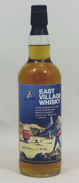 Speyside Region 44 Jahre 1973 Sherry Butt für East Village Whisky Comp. EVWC