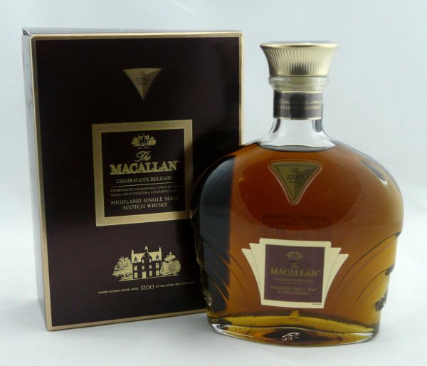 Macallan 1700 Series Chairman's Release Limited Edition for China