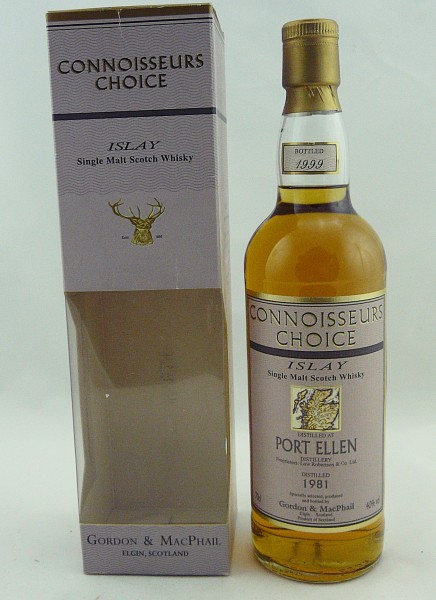 Port Ellen 1981 b. 1999 G&M Connoisseurs Choice