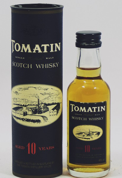 Tomatin 10 Jahre Miniature - old Style, ohne VK