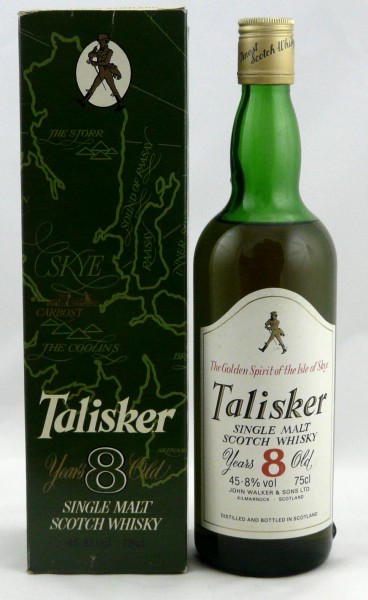 Talisker 8 years The Golden Spirit John Walker