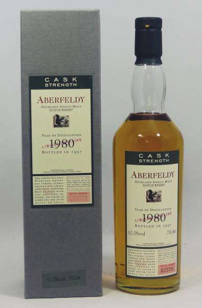 Aberfeldy Flora und Fauna 1980 b. 1997 62%