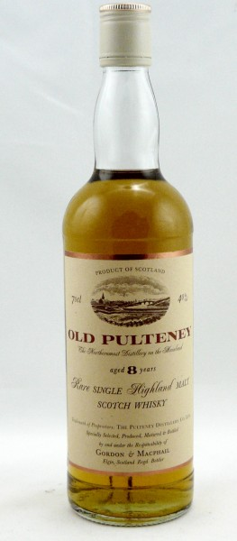 Old Pulteney 8 years 90's Bottling with Screw Cap