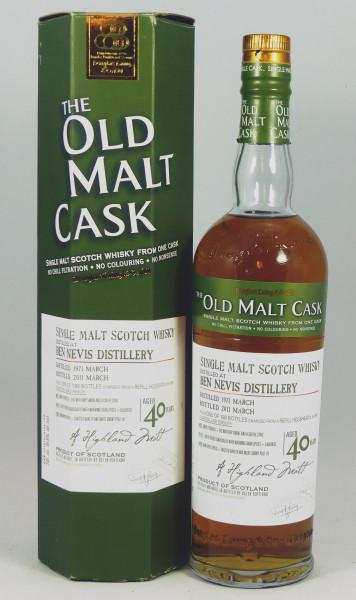 Ben Nevis 40 Jahre 1971 Douglas Laing - The Old Malt Cask