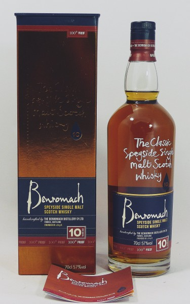 Benromach 10 Years handcrafted by Distillery - 100 Proof
