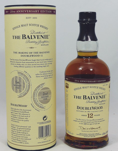 The Balvenie 12 Jahre Doublewood 25th Anniversary Edition