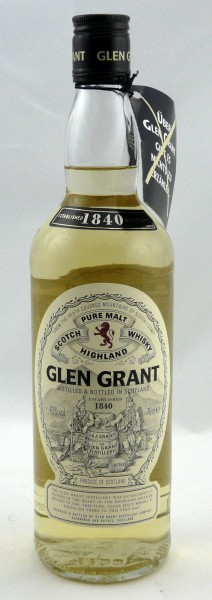 Glen Grant Pure Malt old Label