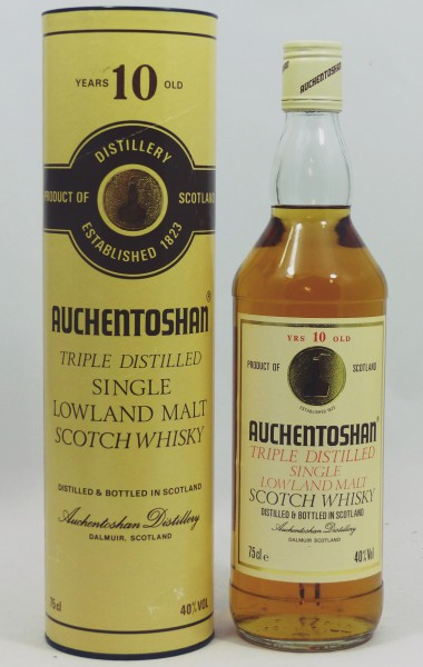 Auchentoshan 10 Jahre Triple Distilled - old Style 75cl