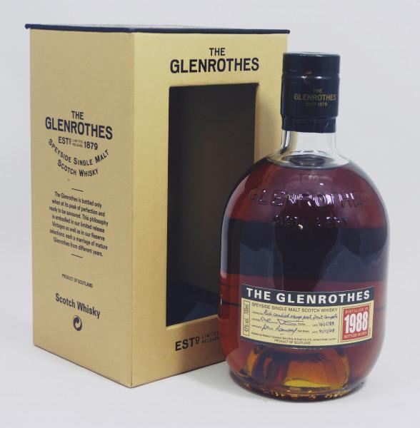 Glenrothes Vintage 1988 bottled in 2011