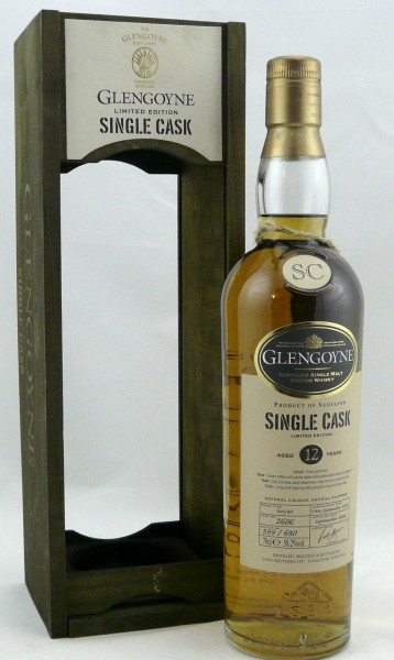 Glengoyne 12 years 1996 Cask 2606 Sherry Butt