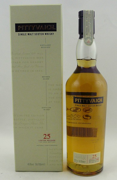 Pittyvaich 25 Jahre Special Release 1989 Cask Strength
