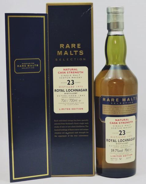 Royal Lochnagar 23 Jahre 1973 Rare Malts Selection