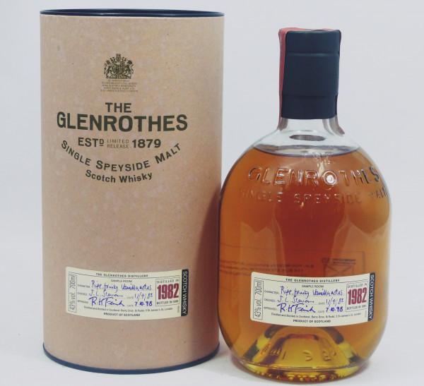 Glenrothes Vintage 1982 bottled in 1999