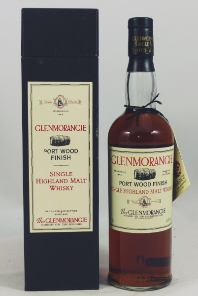 Glenmorangie 12 Jahre Port Wood Finish Second Edition 46,8% - early 90's