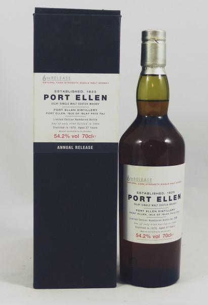 Port Ellen 6th Release 27 Jahre 1978