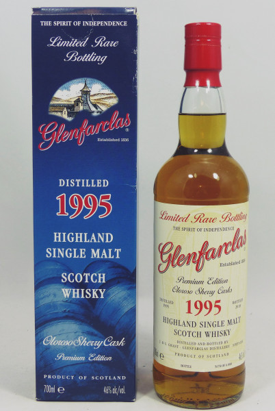 Glenfarclas 1995 b. 2018 Limited Rare Bottling