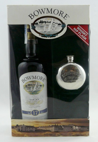 Bowmore 17 years old Style - GP mit Hip Flask
