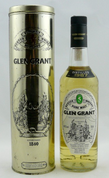 Glen Grant 1987 5 years Pure Malt with TIN
