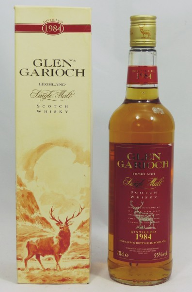 Glen Garioch 1984 Cask Strength 55%
