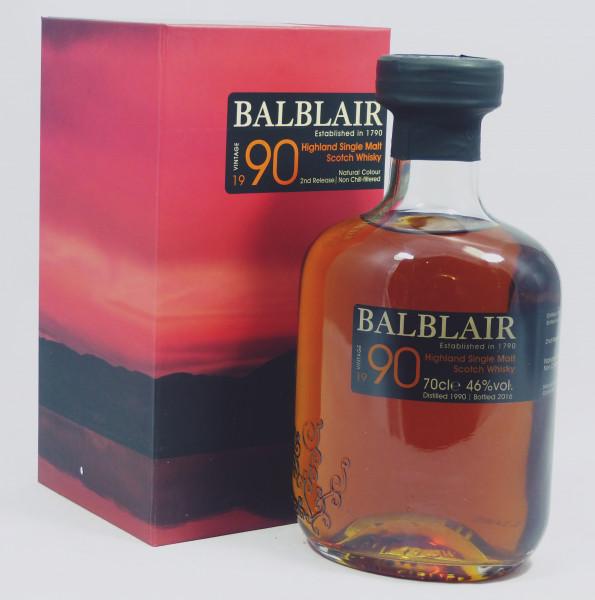 Balblair 1990 2nd Release 2016