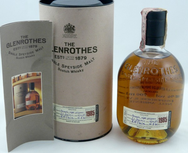 Glenrothes Vintage 1985 bottled in 1997